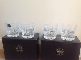 Stuart Crystal Arden 8oz rammer glasses. Price Reduction