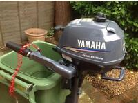 Yamaha F 2.5 hp 4 stroke outboard engine / long shaft option