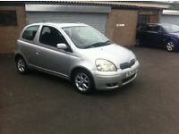 2004 54 TOYOTA YARIS 1.3 LONG MOT FULL SERVICE HISTORY PX WELCOME £850