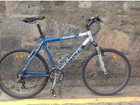Giant Boulder mountain bike - 21 inch aluminium frame - 24 gears (Shimano Acera)