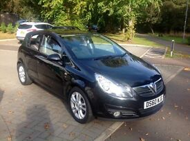 Vauxhall corsa 1.2 sxi 2011 plate only 49.000 miles full service history excellent condition