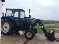 FORD 4610 Tractor complete with Quicke. 2300 Loader