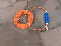 Electric hook-up cable ***UNUSED***