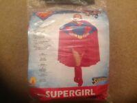 Super girl Fancy Dress Costume