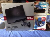 PS3 console & games