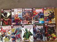 Marvel/Panini brand new comic books