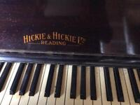 Hickie & Hickie Piano purchased 1926