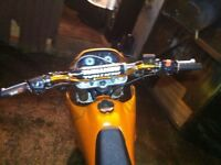Pulse adrenaline Sinnis blade 125cc 2010 plate road legal mx enduro crosser cheap swap sale