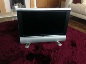 "Sharp Aquos 26"" LCD TV. Good working condition with remote"