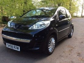 STUNNING 2009 Peugeot 107 Urban. Automatic. MOT April 2019. Full Service History. P/X Considered