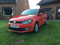 **** BEAUTIFUL 2014 VW POLO MATCH EDITION ONLY 32000 MILES ****