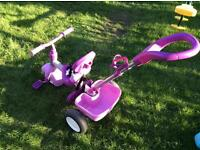 Little tikes push along trike.