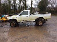 Toyota hilux pickup 4x4 x2