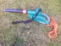 Black Decker leaf blower.
