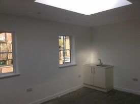 Newly built B1 office or studio units to rent in Victorian Mews in heart of East Sheen, London SW14