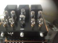 Customised valve amp
