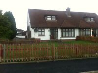 3 bedroom house to let in moy