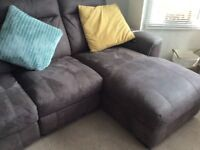 Corner sofa unit ..recliner