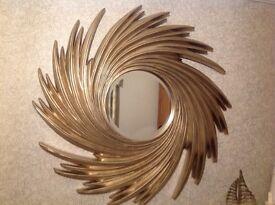 Circular Camilla mirror