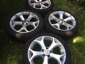 17 inch Vauxhall Corsa VXR alloys