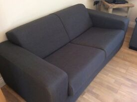 GREY SOFA BED, AS NEW!! reduced from £200