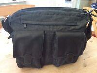 Mamas & Papas Universal Luxury Bag in Black Denim