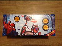 "BRAND NEW Children's Spiderman 10"" bike £30 HAROLD HILL"