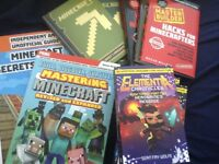 Minecraft books great condition £79 yours for £20