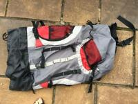 Outhorn rucksack backpack + 2 sleeping bags