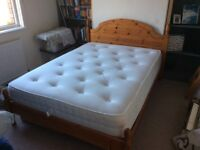 Double Bed, Mattress and Underbed Drawers