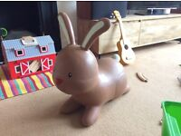 Early Learning Centre, Rabbit Hop, Brown - Great Condition