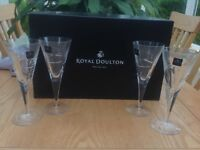 Royal Doulton Lunar Wine Glasses