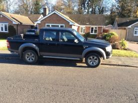 2007 ford ranger xlt 4x4 double cab pickup spares or repair