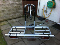 Atera Duro XL - 4 bike lockable towbar carrier, comes with keys and instructions. Quality carrier.