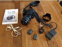 Cannon EOS 350 D camera and accessories, £120