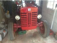 International B250 Tractor