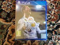 Fifa 18 for PS4 in Pristine condition