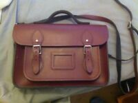 Genuine 15 inch Cambridge Satchel, high quality leather, like new **RRP £150!!**