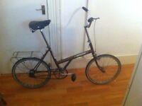 Raleigh Twenty vintage shopping bike