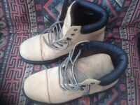 MEN'S BOOTS, 2 PAIRS, VGC / HARDLY WORN, 1 PAIR SIZE 11 and 1 PAIR SIZE 10