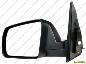 Door Mirror Power Driver Side Sr5 Model Without Sport Package Without Cold Climatte Spec Textured Toyota Tundra 2007-201