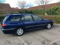 Peugeot 406 diesel estate, 2.0 HDI (90bhp), 10 months MOT £395 ono for quick sale