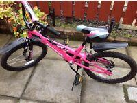 Girl's BMX Kawasaki bicycle