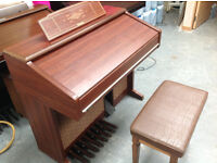 Technics E66 ORGAN, GOOD WORKING ORDER, delivery possible anywhere in England PRICE REDUCED !