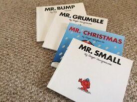 Children's books- Mr Men four books
