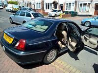 Rover 75 connoisseur - 2ltr diesel, excellent motorway cruiser, BMW engine
