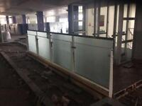 Toughened laminated glass ballastrades 10mm
