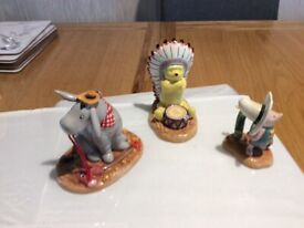 Royal doulton,the Wild West collection set of 6