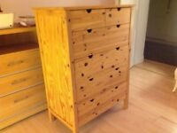 PINE CHEST OF DRAWERS £75 ono