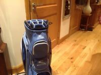 Cobra golf bag unwanted gift Blue lots of pockets as new